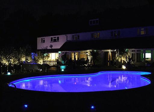 LED pool light efficiency